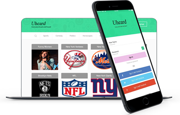 Uheard Mobile Application